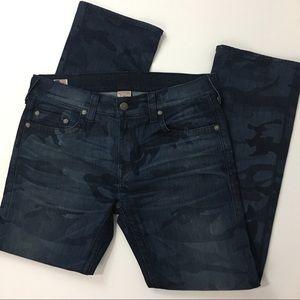 True Religion Bobby camouflage jeans 36x34